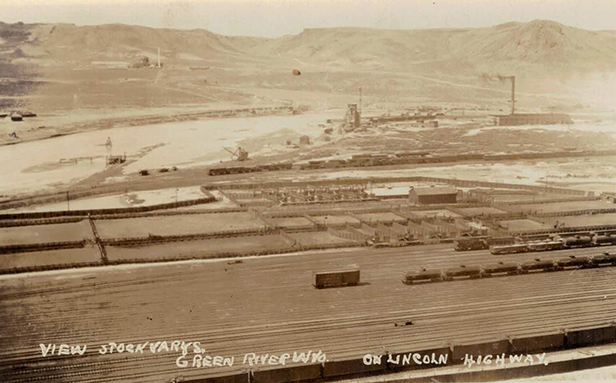 Green River Stockyards ca. 1920 Low resolution