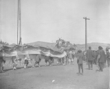 Chinese New Year Parade in Rock Springs, 1896
